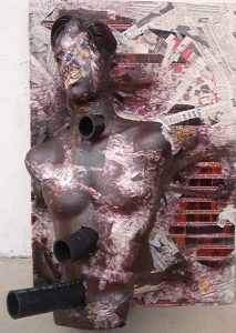 Fall Apart - Mixed Media, 3ft x 2ft, circa 2003, [Photograph]